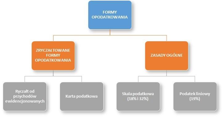formy działalności